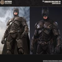 Batman Desert Storm Batsuit Concept by Scarlighter