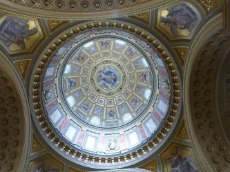 Dome of St. Stephen's Basilica by setanta5