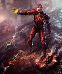 Symbiote Ironman by ijul