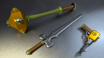 MOTU - Man-At-Arms' Weapons 3 by paulrich
