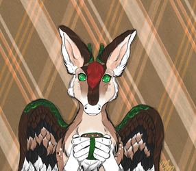 Bambi the Dutch Angel Dragon by MooshieMoo