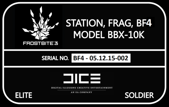 Battlefield 4 PC Powered Chassis Sticker by superreddevil