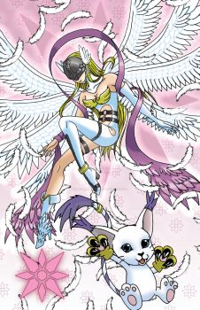 Digimon of Light by ladydevilman