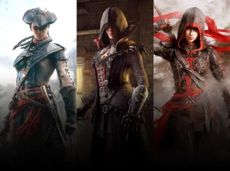 Assassin's Creed Female Characters by Georgenigma