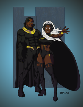 The King and Queen by hulkdaddyg