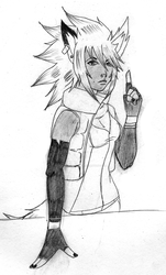 Naveah Sketch by RoK-the-Reaper