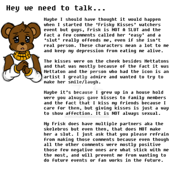 WENEEDTOTALK[PLEASE READ THIS IS IMPORTANT TO ME] by D2DM-FanFic