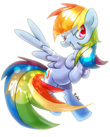 Rainbow Dash by Zoiby