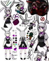 Rachel the rabbit by JustALittleZombie