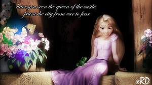 Rapunzel x Tangled by xRainbowDrop