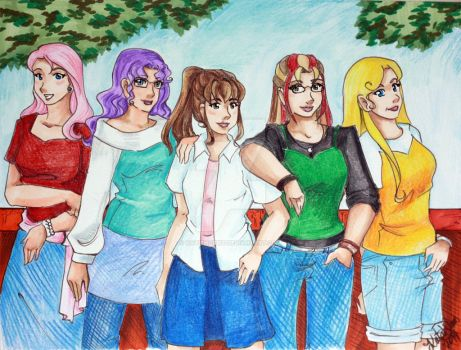 Back in the day by KatieHobbit