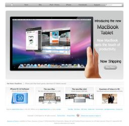 MacBook Tablet by jashsayani