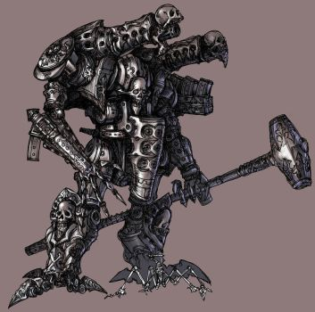 Mecha design: Thanatos by Wen-M