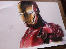 Iron Man by RafaelVancan