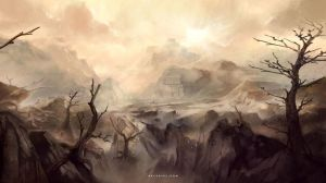 Lifeless Desert by Nele-Diel