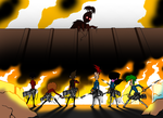 Attack on Pistachion (MML and Pn'F Crossover) by NFSG4M3R2015