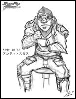 Star Fox OC: Andy Smith by JECBrush