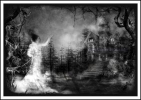 Haunted House by Tigers-stock