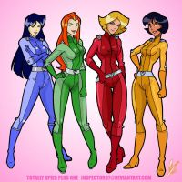 Totally Spies plus one by Inspector97