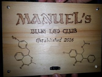 Manuel's Blue LED Club - FRONT by CPSCorporation