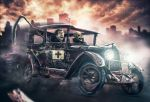 Death Race by isildurion