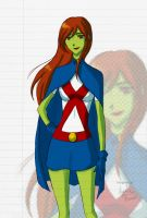 Miss Martian by KUNGPOW333