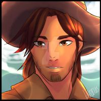 Young Jesse Mccree by OblivionLeaf