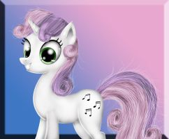 Sweetie Belle by apotropaic-puppet