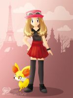 Serena: Pokemon X and Y by Symphonie-Rose