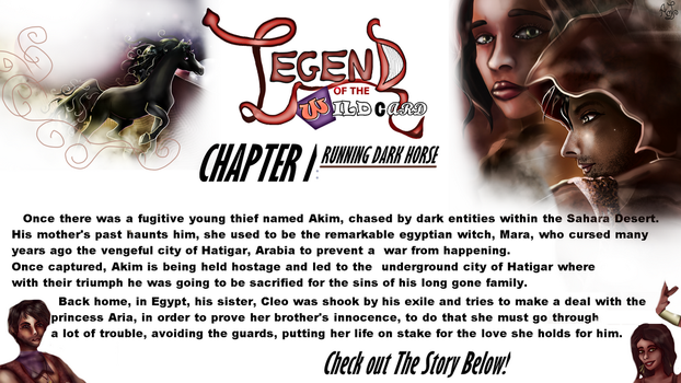 Legend of the Wildcard Chapter I by AndreeaLupsaNL