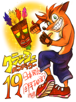 Crash Bandicoot 19th in Japan!! by RAIRA-K
