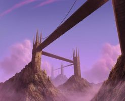 Sky bridges by vandervals