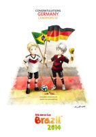 WORLDCUP2014 - GERMANY by eikomakimachi