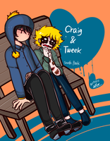 [South Park] Craig and Tweek by ju960818