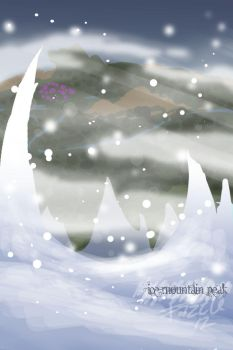 Ice Mountain Peak - Contest Entry by fazzle