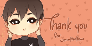 Thank You Card by xAzarea
