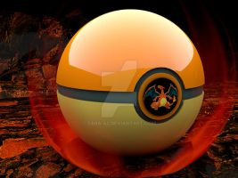 Charizard Pokeball by Sara-A2