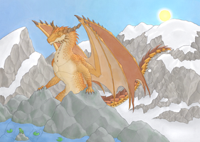 Glares on the Glacier by User96