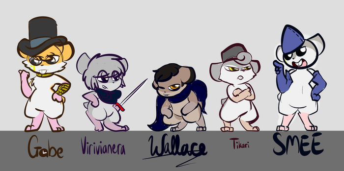 The Usual Suspects by THEpinknekos