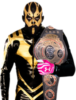 Goldust Render 1 by BLACKrangers123
