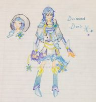 Diamond Dust Gijinka by CreamPurin