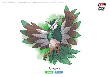 My Rowlet Final evolution concept by logancure