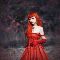 Red dress by 13-Melissa-Salvatore