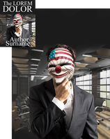 Corporate Clown Premade Book Cover by Viergacht
