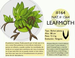 Pokemon Oryu 164 Leafmoth by shinyscyther