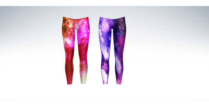 MMD Galaxy Leggings by amiamy111