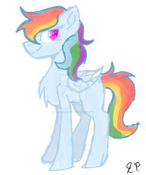 Rainbow Dash (My Version) by theponygaming