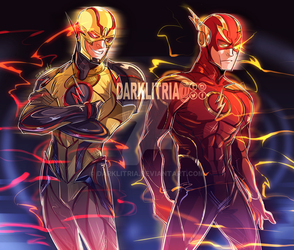 Injustice 2 Flash and Reverse by DarkLitria