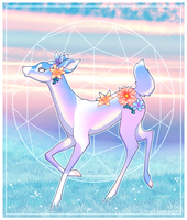 Doe at Dusk by CitrusKissed