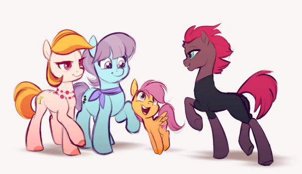 Here's my aunties!! by Imalou